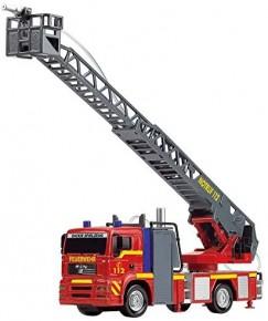 Masina de pompieri City Fire 31 cm cu tun pentru apa