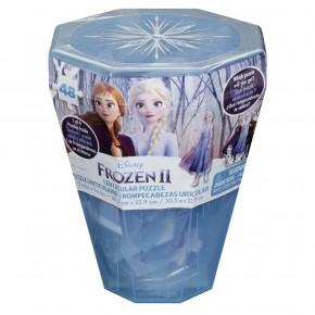 Puzzle Surpriza Frozen 2 cu 48 piese in cutie diamant