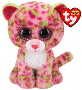 Plus TY 15 cm Boos Leopard roz