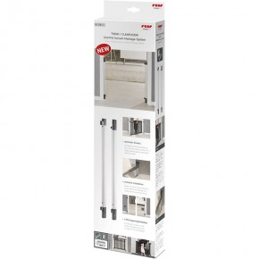 Sistem de instalare rapida EasyFix pentru porti de siguranta extensibile DesignLine, aluminiu, Reer 46051