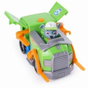 Figurina cu autovehicul Paw Patrool remorcherul lui Rocky