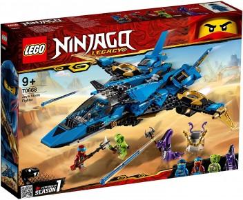 Lego Avionul de lupta a lui Jay 70668