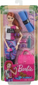 Barbie Set de joaca cu accesorii Wellness la sala sport