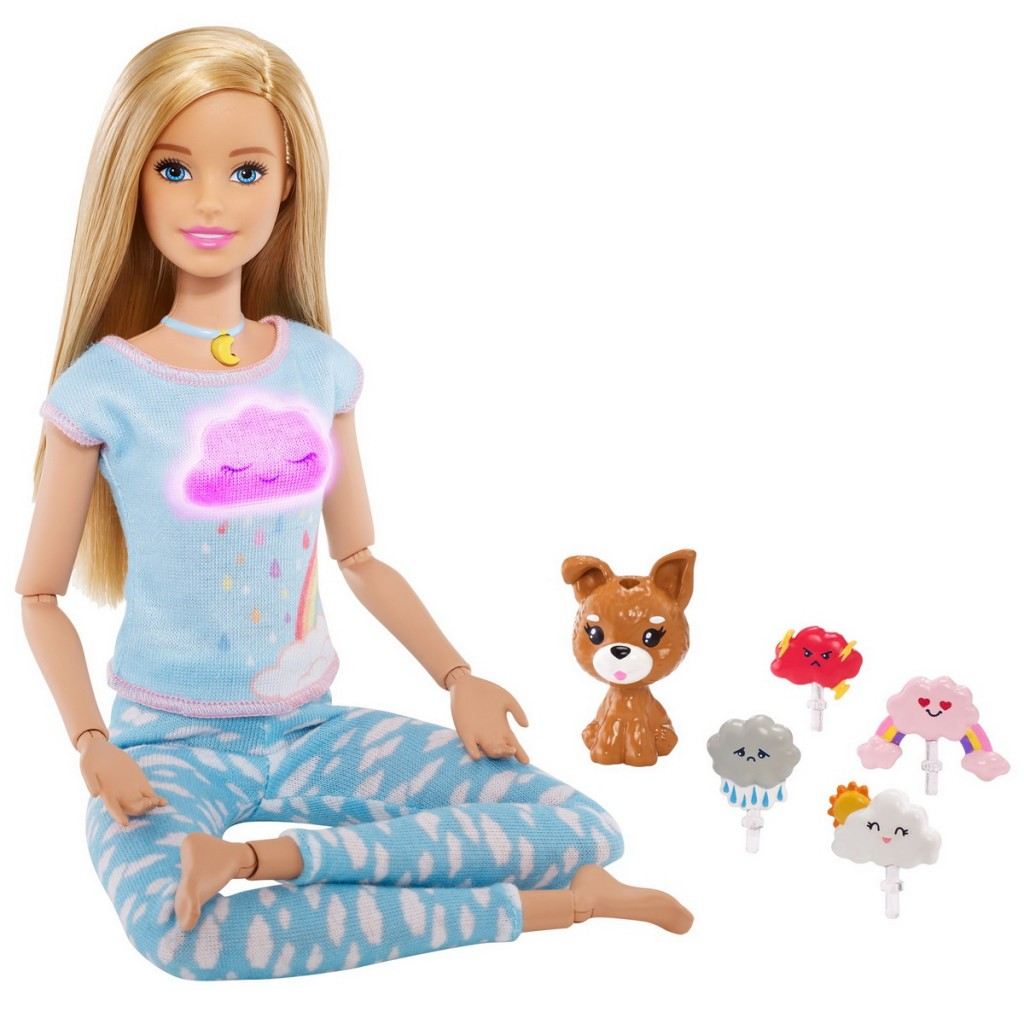 Papusa Barbie 5 exercitii de meditatie