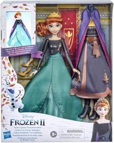 Papusa Frozen 2 Anna transformarea finala