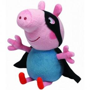 Plus TY 28 cm Peppa Pig Super erou