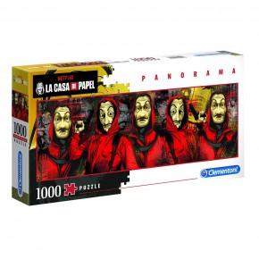 Puzzle Casa de Papel 1000 de piese panorama Clementoni