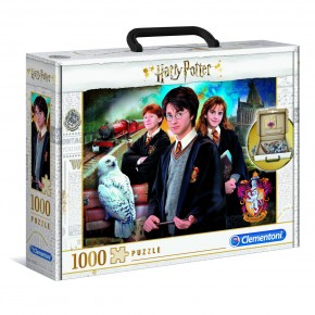 Puzzle Harry Potter 1000 de piese panorama Clementoni