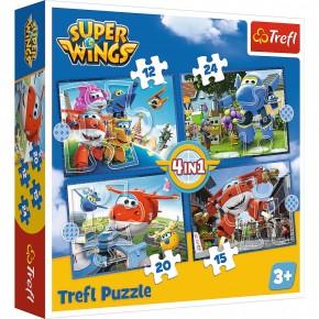 Puzzle Trefl 4in1 O echipa extraordinara