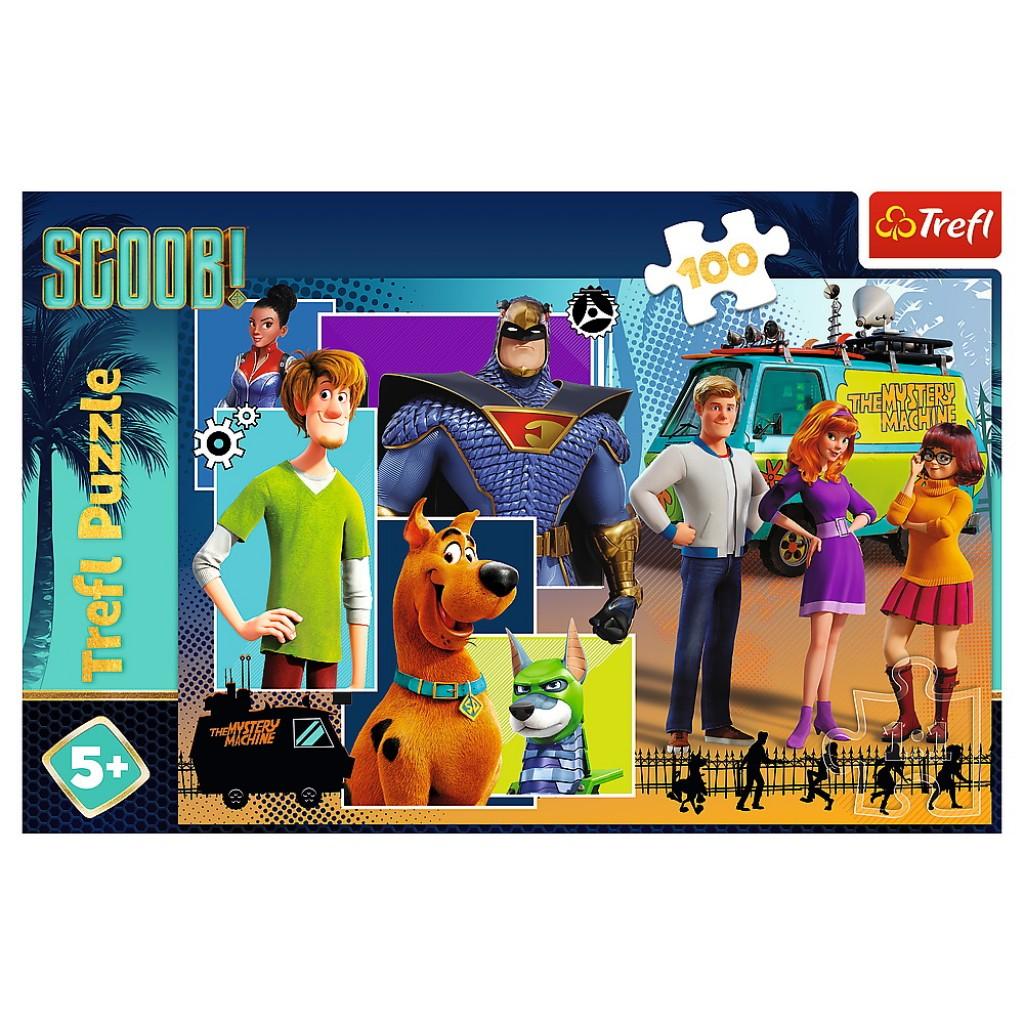 Puzzle Trefl 100 Scooby Doo
