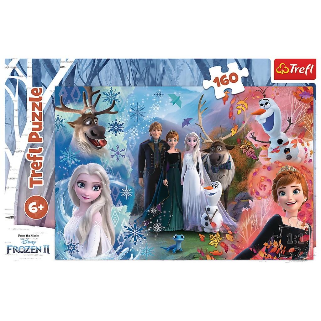 Puzzle Trefl 160 Frozen 2 Vis devenit realitate