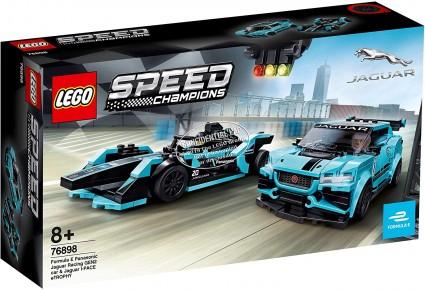 Lego Speed Champions Formula E Panasonic Jaguar Racing Gen 2  Car si Jaguar I-pace Etrophy 76898