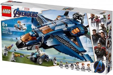 Lego Super Heroes Quinjetul Suprem al razbunatorilor 76126