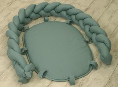 Jolie Suport pentru Baby nest Pure Salvia, 80*45 cm