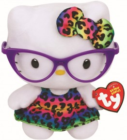 Jucarie de plus TY Beanie Babies - Hello Kitty Fashionista - 15 cm