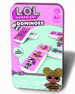 Joc Domino LOL in cutie de metal