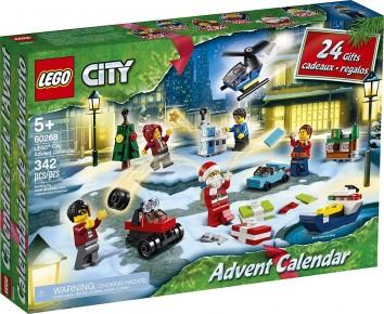 Lego City Calendar de craciun 60268