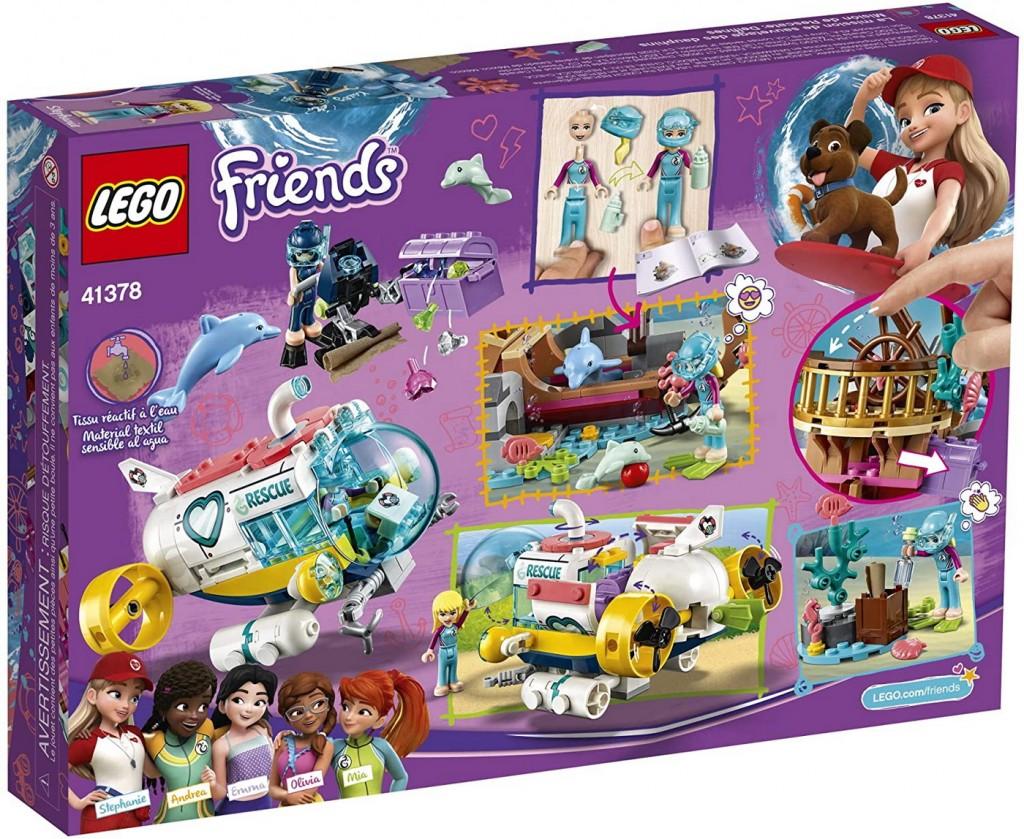 Lego Friends Misiunea de salvare a delfinilor 41378
