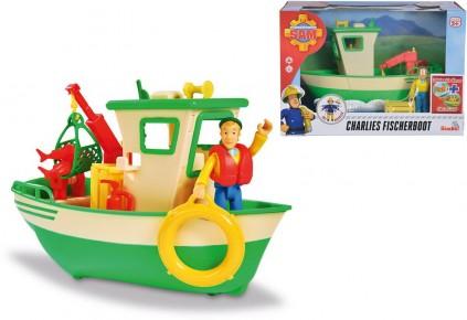 Pompierul Sam Barca de pescuit a lui Charlie
