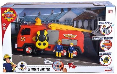 Pompierul Sam Mega Deluxe Jupiter