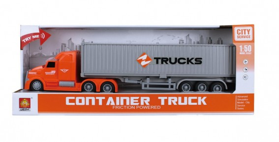 Camion Tir Fast Delivery frictiune lumini si sunete 1:50