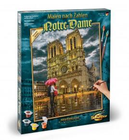 Kit Pictura pe numere Shipper Catedrala Notre Dames