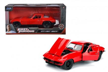 Masinuta metalica Fast and Furious 1966 Chevy Covette 1:24