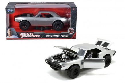 Masinuta metalica Fast and Furious 1967 Chevy Camaro 1:24