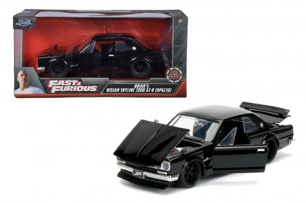 Masinuta metalica Fast and Furious 1971 Nissan Skyline 1:24