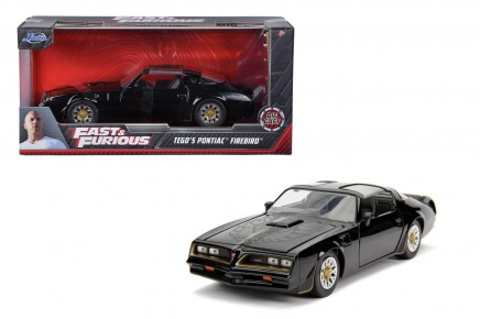 Masinuta metalica Fast and Furious 1977 Pontiac Firebird 1:24