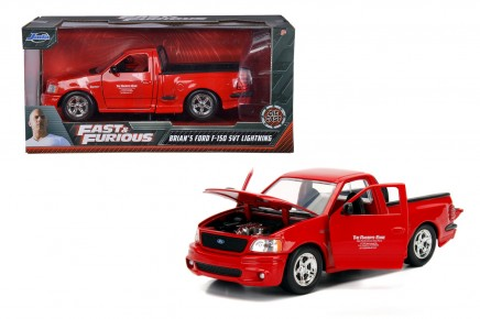 Masinuta metalica Fast and Furious 1999 Ford SVT F-Lighting 1:24