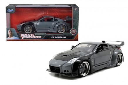 Masinuta metalica Fast and Furious 2003 Nissan 350Z 1:24