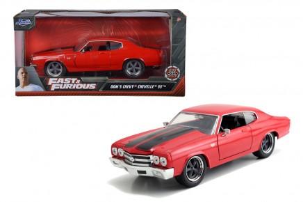 Masinuta metalica Fast and Furious 1970 Chevy Chevelle 1:24
