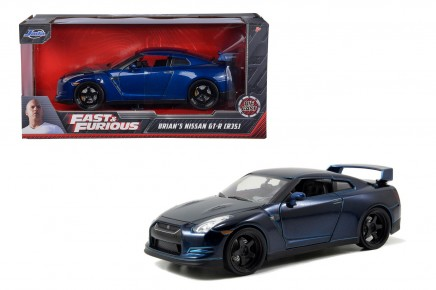 Masinuta metalica Fast and Furious 2009 Nissan GT-R 1:24