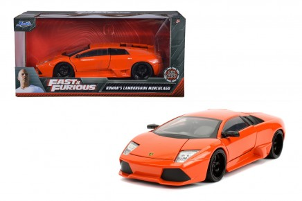 Masinuta metalica Fast and Furious Lamborghini 1:24
