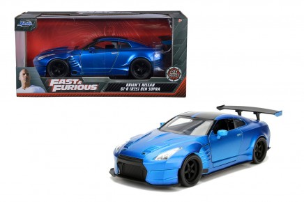 Masinuta metalica Fast and Furious 2009 Nissan Ben Sopra 1:24