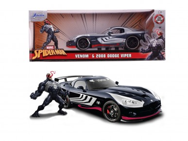 Masinuta metalica Venom 2008 Dodge Viper 1:24