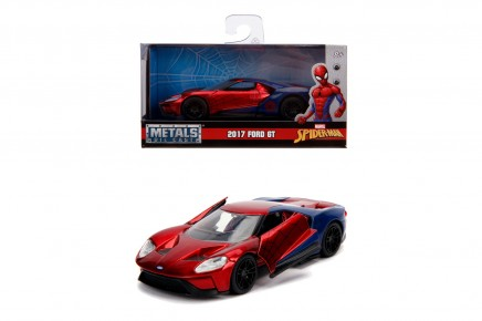 Masinuta metalica Spiderman 2017 Ford GT 1:32