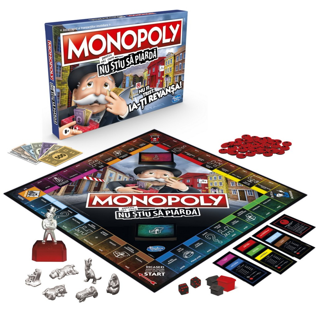 Monopoly pentru cei care nu stiu sa piarda
