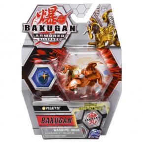 Bakugan S2 Bila basic Golden Pegatrix cu card baku-gear