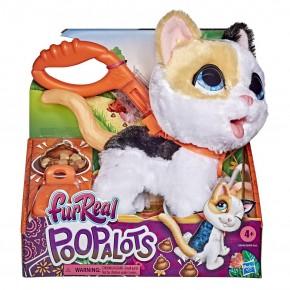 Jucarie interactiva pisicuta de plus Pooplots
