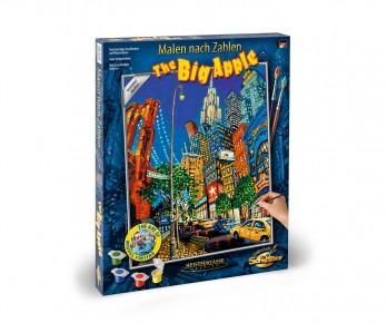 Kit de pictura pe numere Schipper The Big Apple