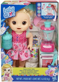 Papusa Baby Alive cu mixer pentru capsuni