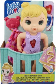 Papusa Baby Alive cu batai colorate ale inimii