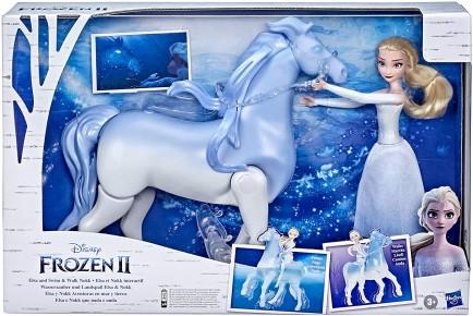 Set Frozen cu papusa Elsa si Nokk spiritul mitic