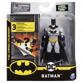 Figurina Batman  10 cm cu 3 accesorii surpriza