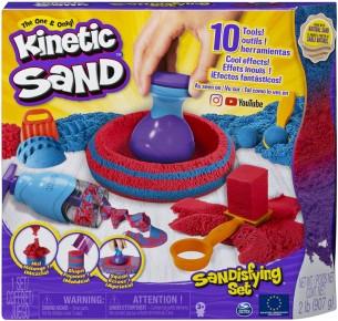 Kinetic Sand Set Sandtastic cu 10 accesorii