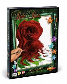 Kit pictura pe numere Schipper trandafirii rosii