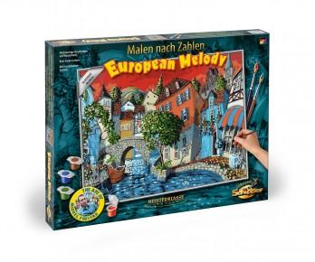 Kit pictura pe numere Schipper The European Melody
