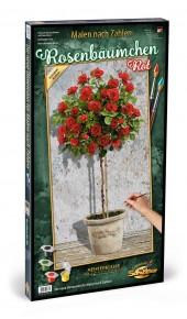 Kit pictura pe numere Schipper Trandafir iun ghiveci